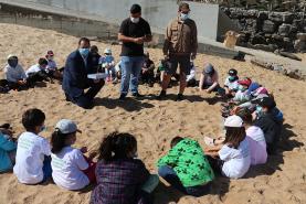 Lourinhã: Dia Europeu do Mar assinalado com acção de sensibilização ambiental na Praia de Porto Dinheiro