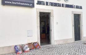 União de Freguesias da Lourinhã e Atalaia: doação de batata doce a famílias carenciadas
