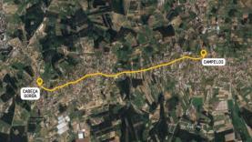 Estrada Municipal entre Cabeça Gorda e Campelos recuperada pelos Municípios da Lourinhã e de Torres Vedras