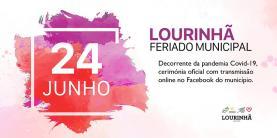Lourinhã: cerimónia do feriado municipal conta com transmissão online