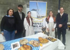 Festival das Papas de Milho marcou presença na 2ª edição do Festival do Almeirão, Azeite Novo e Pão Caseiro