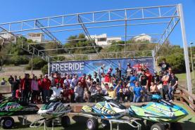 Australiano Joel Barry venceu primeira etapa do Campeonato do Mundo de Jetski Freeride na Praia da Areia Branca