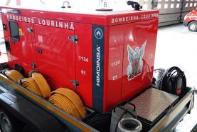 Bombeiros Voluntários da Lourinhã adquirem gerador de electricidade para apoio às operações de socorro