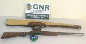 Homem detido pela GNR por caça ilegal no concelho de Torres Vedras