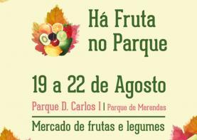 Caldas da Rainha: 'chef' Chakall marca presença na iniciativa 'Há Fruta no Parque'