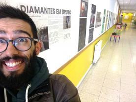 'Diamantes em Bruto' dá nome a exposição de Jorge Fernandes que esteve em missão em Angola