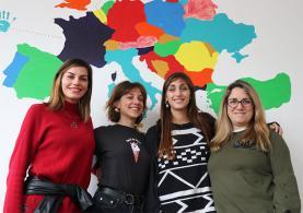 Jovens italianas desenvolvem projectos na Lourinhã com o apoio da União Europeia