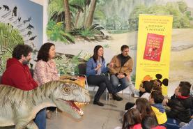 Dino Parque da Lourinhã recebeu lançamento do livro 'Mistério no Museu dos Dinos'