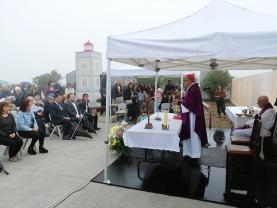 Ribamar: inauguração do monumento 'Memorial aos que não tornaram'
