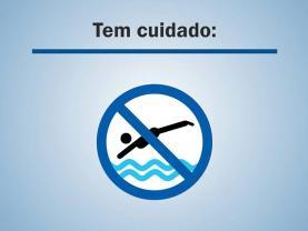 Campanha alerta para o risco de acidentes nas piscinas e praias: mergulhos podem causar lesões permanentes na coluna vertebral