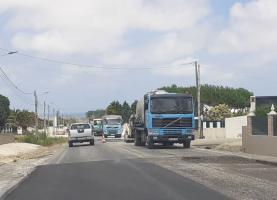 Obras de conservação em curso na EN247 restringem-se ao concelho de Peniche
