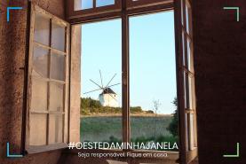 COVID-19: OesteCIM lançou desafio aos oestinos para mostrarem o que veem da sua janela de casa