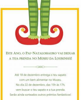 O 'Pai-Natalossauro' vai ao Museu da Lourinhã