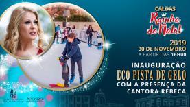 Pista de gelo ecológica inaugurada este sábado nas Caldas da Rainha