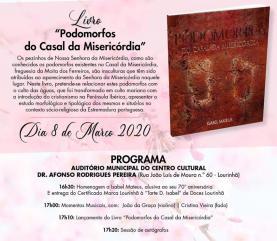 Lourinhã: lançamento do livro 'Podomorfos do Casal da Misericordia' de Isabel Mateus