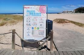 Praias do concelho da Lourinhã com capacidade para 8.320 banhistas e Oeste com 106.430 lugares