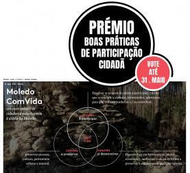 Projecto 'Moledo Convida' é candidato ao Prémio OIDP em 'Boa Prática de Participação Cidadã'