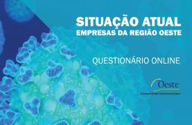 COVID-19: OesteCIM lança questionário 'online' para avaliar situação das empresas da região