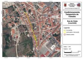 Rua do Clube: trânsito condicionado dias 19 e 20 de Novembro