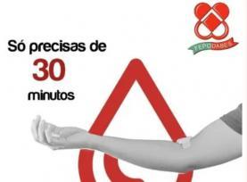 Federação apela para dádiva de sangue antes das férias com campanhas no Oeste