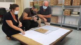 Santa Casa da Misericórdia e Centro de Estudos Históricos da Lourinhã descobrem três tombos durante inventariação de arquivo