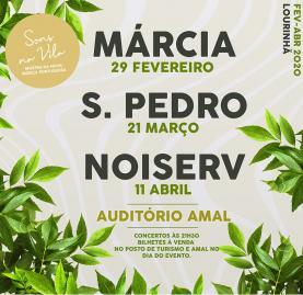 'Sons da Vila' estão de regresso à Lourinhã com os artistas nacionais Márcia, Noiserv e S. Pedro