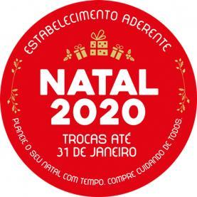 Iniciativa 'Natal 2020 - compre cuidando de todos' permite trocas de presentes até 31 de Janeiro