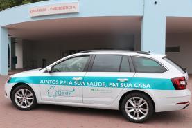 Caixa de Crédito Agrícola Mútuo das Caldas da Rainha, Óbidos e Peniche oferece viatura à Unidade de Hospitalização Domiciliária do Centro Hospitalar do Oeste
