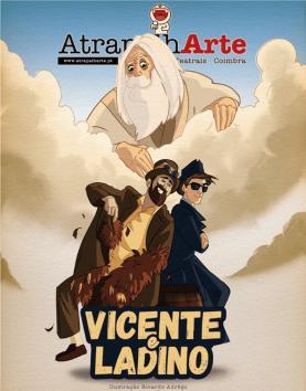 Rede Intermunicipal de Bibliotecas do Oeste transmite teatro online 'Vicente e Ladino'